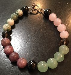 Depression, Anxiety, Self Esteem, Love, Grounding & Stress Relief Bracelet  Listing is