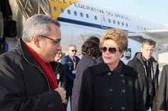 """Até agora, ninguém sabe qual será a chamada """"agenda privada"""" da presidente brasileira na capital francesa, que está em alerta contra terroristas"""