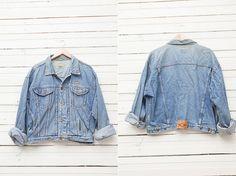 1980's Vintage Men Denim Jacket by International by CoverVintage, $38.00