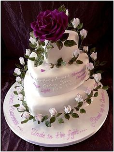 So many moving tributes shared and so many tears shed. Dream Wedding, Wedding Day, Heart Cakes, White Wedding Cakes, Sugar Flowers, Lily, Desserts, Food, Dreams