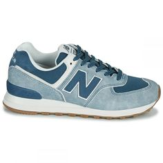 Baskets femme Baskets basses New Balance 574 Reebok, New Balance Sneakers, New Balance Women, Good News, Baskets, Shopping, Shoes, Fashion, Blue