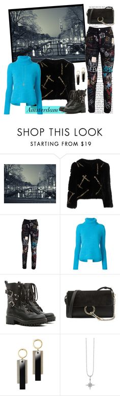 """A Northern Excursion"" by krusie ❤ liked on Polyvore featuring Moschino, Dolce&Gabbana, N°21, RED Valentino, Chloé, Avon and Sydney Evan"