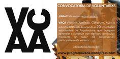 CONVOCATORIA DE VOLUTNARIXS 2015 Revisa las bases en www.programavaca.wordpress.com