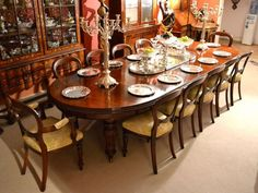 Antique 12ft Victorian Dining Table And 12 Chairs C 1860 Victorian Dining Tables Dining Table Dining Room Sets