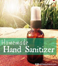 Get Happy with doTERRA: Homemade Hand Sanitizer using Essential Oils