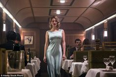 Spectre will be the twenty-fourth James Bond film, starring Lea Seydoux in a dove grey silk dress