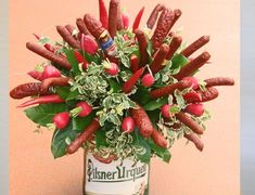 Food Bouquet, Food L, Food Gifts, Holidays And Events, Kids And Parenting, Things To Do, Crafts For Kids, Decoration, Create