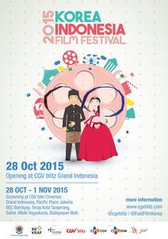 Poster Korea Indonesia Film Festival 2015 (FA)
