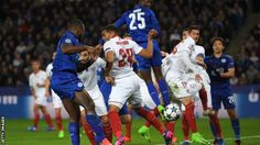 Leicester City wrote another chapter in their remarkable story as they overturned a first-leg deficit to beat Sevilla and reach the Champions League quarter-finals on a night of raw passion at the King Power Stadium.  The Foxes looked in trouble after a 2-1 first-leg loss in Spain that was the catalyst for the sacking of Claudio Ranieri - the manager who had guided them into this competition after winning the Premier League nine months ago.