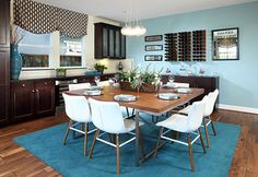 Dine with the whole family in this gorgeous Colina Plan 3 Dining Room | by SheaHomesNoCal #SheaColina