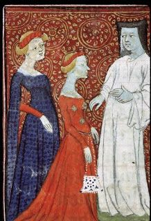 Eva's historical costuming blog: My favourite patterned clothes from the 14th century