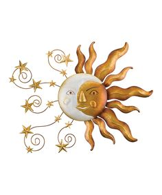Celestial Sun Outdoor Wall Décor by Regal Art & Gift #zulily #zulilyfinds