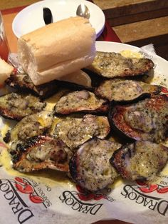 Chargrilled oysters ~ Drago's  They did chargrilled oysters first!