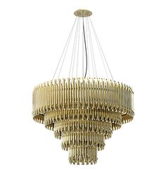 Ideal for a classic living room with a modern touch, Matheny stilnovo suspension lamp came to reinvent classic designs.