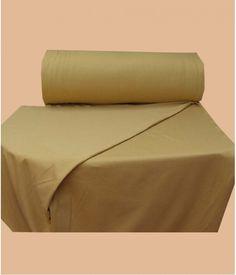 Vente en ligne tissu molleton sweat miel doré