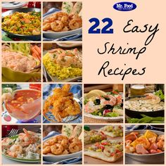 22 Easy Shrimp Recipes - From dinner to appetizers and more, we've got all your favorite shrimp recipes right here!