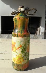 Decoupage Bottles by Carlos Rossi : Agosto 2016