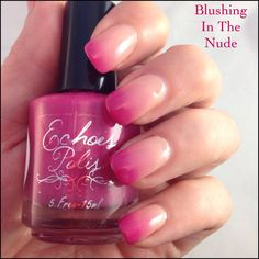Blushing In The Nude Thermal Nail Polish