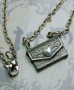 Envelope necklace $12.00