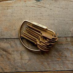 Key Ring – Brass – M-U Co
