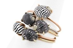 Sea Snail Rings by Jacquie Aiche.