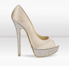 Wish I could have these Jimmy Choo's for my wedding day! I can dream, right?
