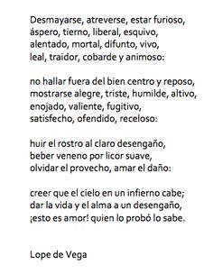 Lope de Vega, el Fénix de los Ingenios, también le escribió al amor.  http://www.cervantesvirtual.com/bib/bib_autor/Lope/