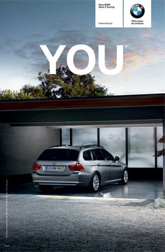 BMW: You     The New BMW 320 Discover it everyday for €275/month.  Advertising Agency: Y Brands Portugal