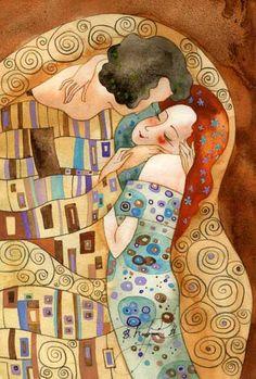 Целующийся Климт