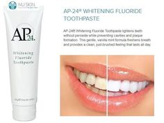 NU Skin AP 24 Whitening Fluoride Toothpaste 4 Oz Nuskin for sale online Whitening Fluoride Toothpaste, Best Teeth Whitening, Nu Skin, Facial Cream, Skin Cream, Pole Dancing, Asheville, Face Lightening, Teeth Health