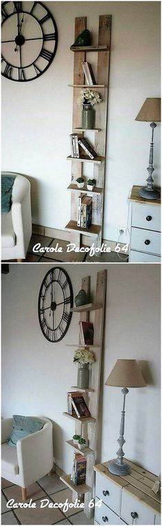 Check out this amazing wood pallet idea where the recycling of the wood pallet has been done for creating the shelving stand amazing furniture piece. It is compact in size shaping where it can purposely be used for the shelving furniture concepts. It looks so modish and elegant.