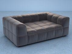 Arflex International Spa Strips sofa 125/190 3d model | Cini Boeri