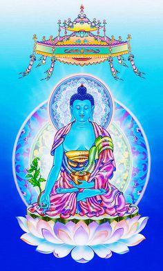 I uploaded new artwork to fineartamerica.com! - 'Medicine Buddha 4' - http://fineartamerica.com/featured/medicine-buddha-4-lanjee-chee.html via @fineartamerica
