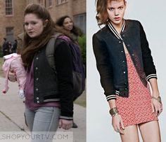 Shameless: Season 6 Episode 2 Debbie's Denim Varsity Jacket