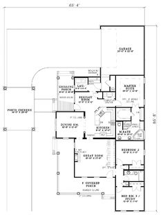 Hunting Cabin likewise Two Bedroom Beach House Plans further Southern Country Interior Design Ideas together with Thing additionally Log Home Designs And Floor Plans. on ranch house plans with pool