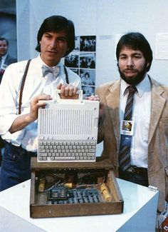 Steven Paul Jobs Apple IIc introduction 24 April 1984