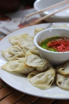 Gorgeous Momo (Nepali style steamed dumplings) @Minnie Gupta
