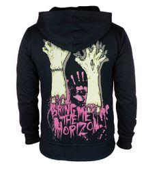 T shirt: Bring Me The Horizon Hoodie Punk Rock Zip Up Sweatershirt For Men