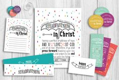 LDS Young Women 2016 Theme Printables Kit by PicadillyLime