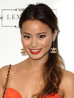 How to get Jamie Chung's sweet side pony. #tutorial #hair
