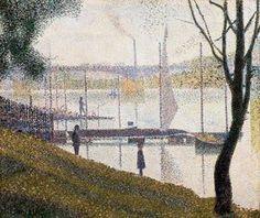 Le Pont de Courbevoie - (Georges Pierre Seurat)