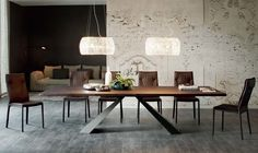 Eliot Wood Table, Casa Spazio, WwwCasaspazioCom Transitional, MidCentury Modern, Contemporary, Industrial, Wood, Metal, Dining Room Table by River North Design District
