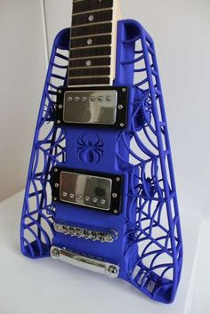 The Spider Electric Guitars by Olaf Diegel are Wicked