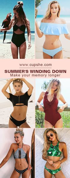 Want to surprise friends how fabulous you are at poolside party? There's no question that wearing these chic and hot swimwears will realize your plan! To meet old friends and enjoy parties. Forever young & Free shipping. Shop Now!