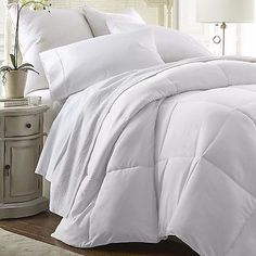 Hotel Quality Down Alternative Comforter - by Soft Essentials, Six Colors! in Home & Garden, Bedding, Comforters & Sets | eBay