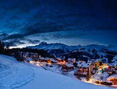 I was out at night again. The mountain village is called Affeier and is located in the canton of grisons in Switzerland.  Und wieder war ich nachts unterwegs. Ihr seht ein Teil vom Dorf Affeier in Obersaxen in der Surselva (GR/CH)  _____________________________________________ Camera: Panasonic Lumix DMC-GX8 Lens: LEICA DG SUMMULUX 15/F17 Settings: f/8.0 |10s | 15 mm | ISO 100 _____________________________________________  #lumixgx8 #surselvatourism #super_switzerland… Visit Switzerland, Mountain Village, Mount Everest, Travel Photography, Hiking, War, Mountains, Landscape, Night