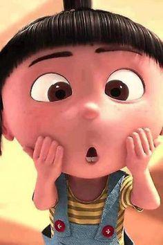 Despicable me Agnes Agnes Despicable Me, Minions Despicable Me, Cartoon Pics, Cute Cartoon Wallpapers, Baby Cartoon, Cute Disney Characters, Minions Love, Happy Minions, Images Disney