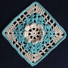 "Ravelry: Garden Trellis 6"" Granny Square pattern by Shelley Husband"
