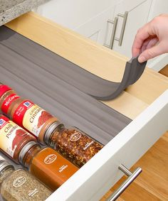 This In-Drawer Spice Organizer - Set of Six is perfect! #zulilyfinds