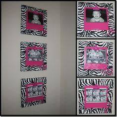 Canvas Zebra frames with tutorial